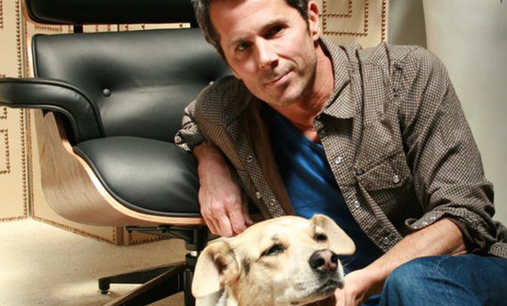 Matt Hennesy founded Bridgeprops/NY in 2006, later expanding to Los Angeles and Atlanta. Pepper the golden lab helps!